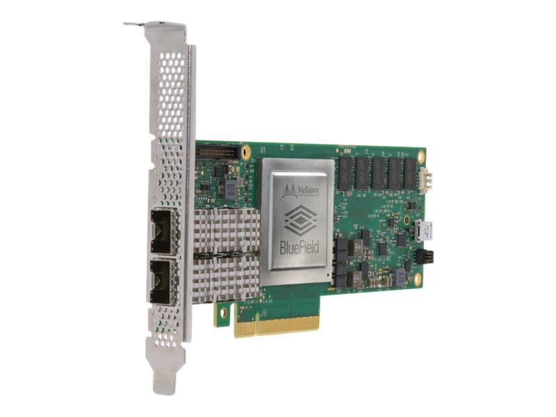 Mellanox BlueField SmartNIC MBF1M332A-ASCAT - Crypto enabled - Netzwerkadapter - PCIe 4.0 x8 - 25 Gigabit SFP28 x 2
