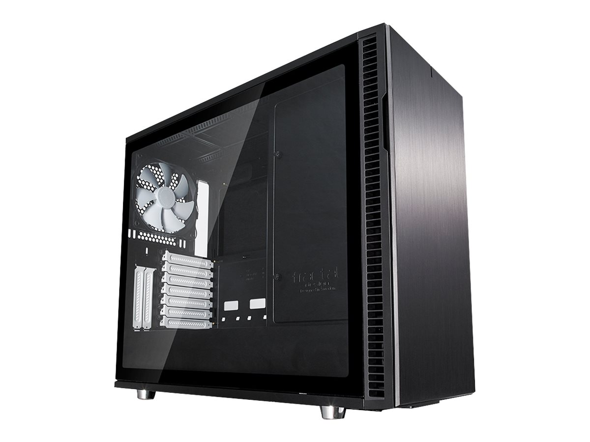 Fractal Design Define Series R6 TG - Tower - Erweitertes ATX - ohne Netzteil (ATX) - Schwarz - USB