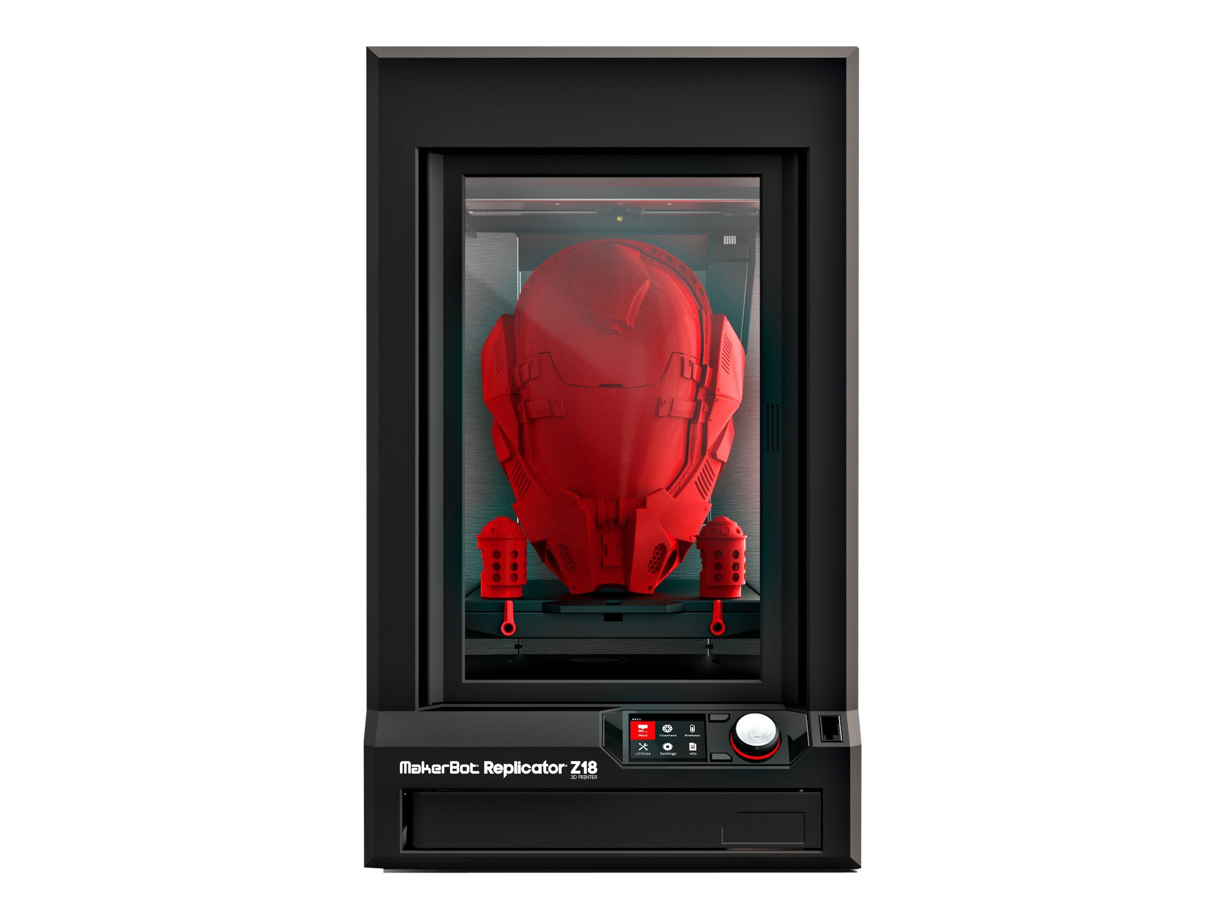 MakerBot Replicator Z18 - 3D-Drucker - FDM - max. Baugrösse 457 x 305 x 305 mm - Schicht: 100 µm - USB, LAN, USB-Host, Wi-Fi