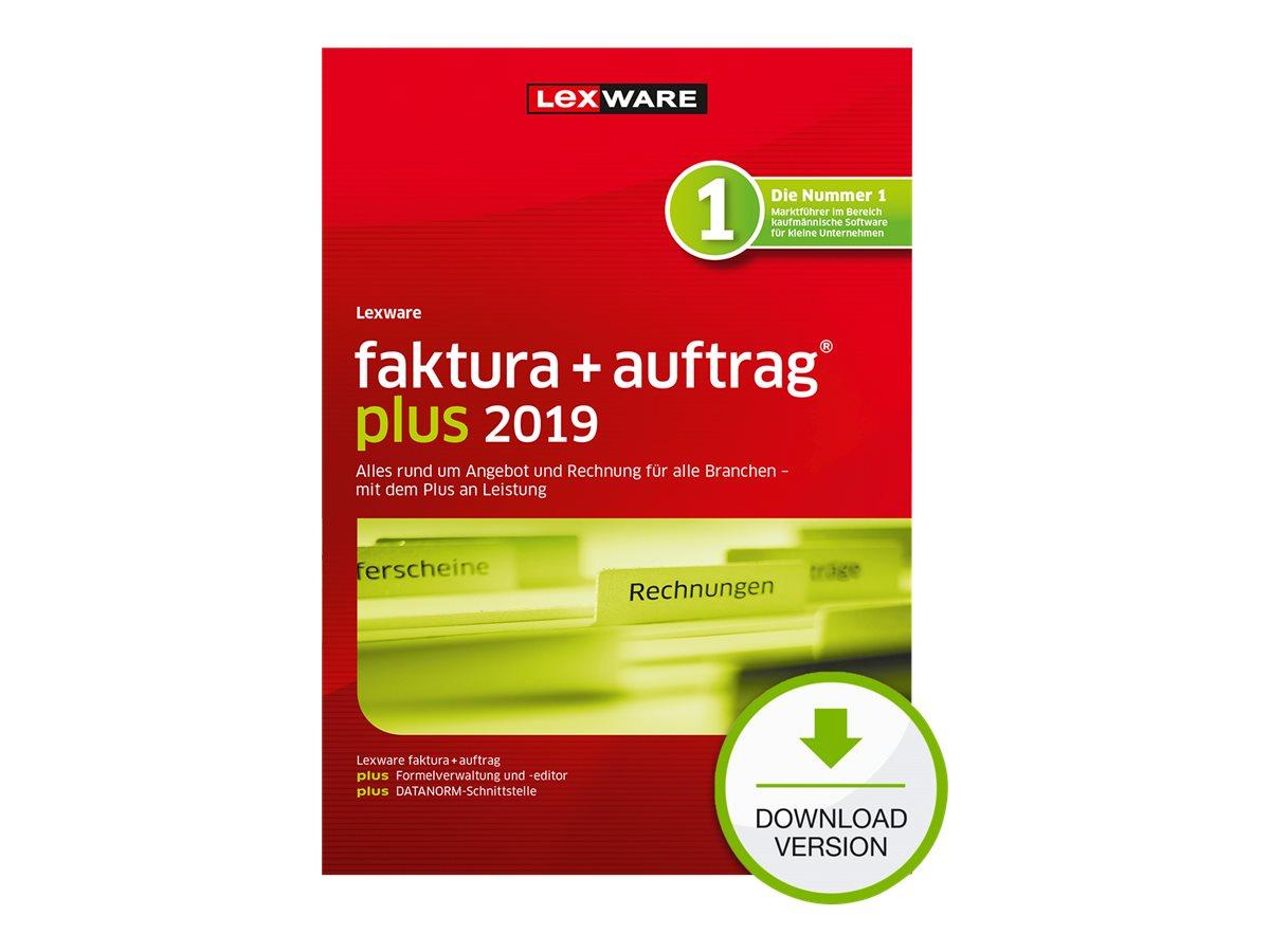 Lexware faktura+auftrag Plus 2019 - Abonnement-Lizenz (1 Jahr) - 1 Benutzer - Download - ESD - Deutsch