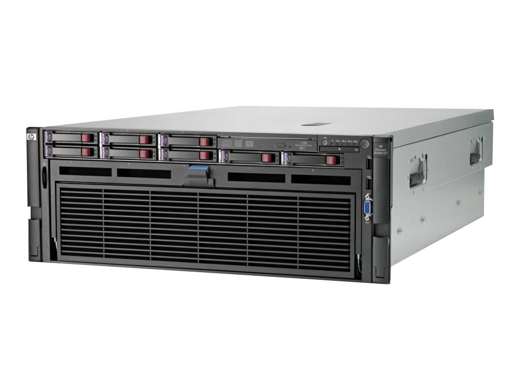 HPE ProLiant DL580 G7 Base - Server - Rack-Montage - 4U - vierweg - 2 x Xeon E7-4830 / 2.13 GHz