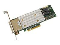 Microchip Adaptec SmartRAID 3154-8i16e - Speichercontroller (RAID) - 8 Sender/Kanal - SATA 6Gb/s / SAS 12Gb/s Low-Profile - 12 G
