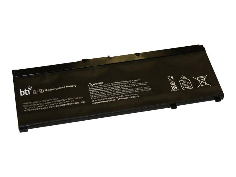 BTI - Laptop-Batterie - 1 x Lithium-Polymer 4 Zellen 4550 mAh