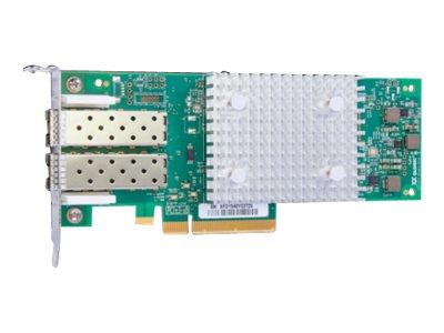 HPE StoreFabric SN1600Q 32Gb Dual Port - Hostbus-Adapter - PCIe 3.0 x8 Low-Profile - 32Gb Fibre Channel x 2 - für SimpliVity 380