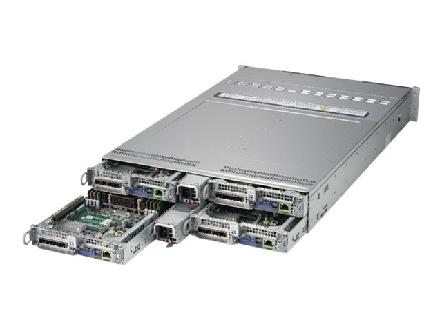 Supermicro A+ Server 2123BT-HTR - 4 Knoten - Cluster - Rack-Montage - 2U - zweiweg