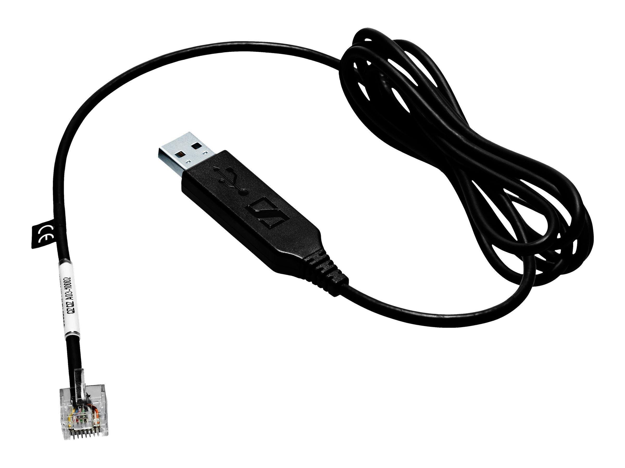 EPOS | SENNHEISER CEHS-CI 02 - Telefonadapter - RJ-45 (M) bis USB (M) - 1.5 m - für IMPACT SDW 5035, 5065