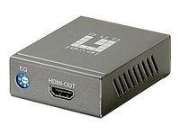 LevelOne HDSpider HVE-9000 HDMI Cat.5 Receiver (Long) - Video Extender - HDMI - bis zu 60 m