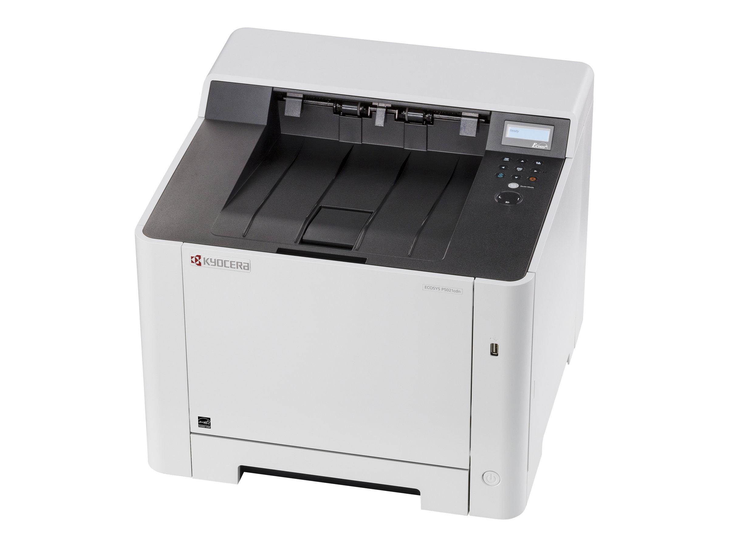 Kyocera ECOSYS P5021cdn - Drucker - Farbe - Duplex - Laser - A4/Legal