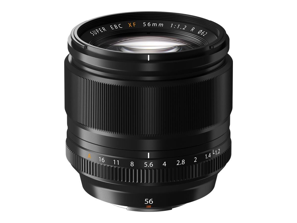 Fujinon XF - Objektiv - 56 mm - f/1.2 R - Fujifilm X Mount - für X Series X-A10, X-A2, X-A3, X-A5, X-E2S, X-E3, X-H1, X-Pro2, X-