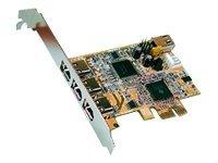 Exsys EX-16500E - FireWire-Adapter - PCIe - Firewire - 4 Anschlüsse