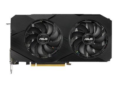 ASUS DUAL-GTX1660S-6G-EVO - Grafikkarten - GF GTX 1660 SUPER - 6 GB GDDR6 - PCIe 3.0 x16 - DVI, HDMI, DisplayPort