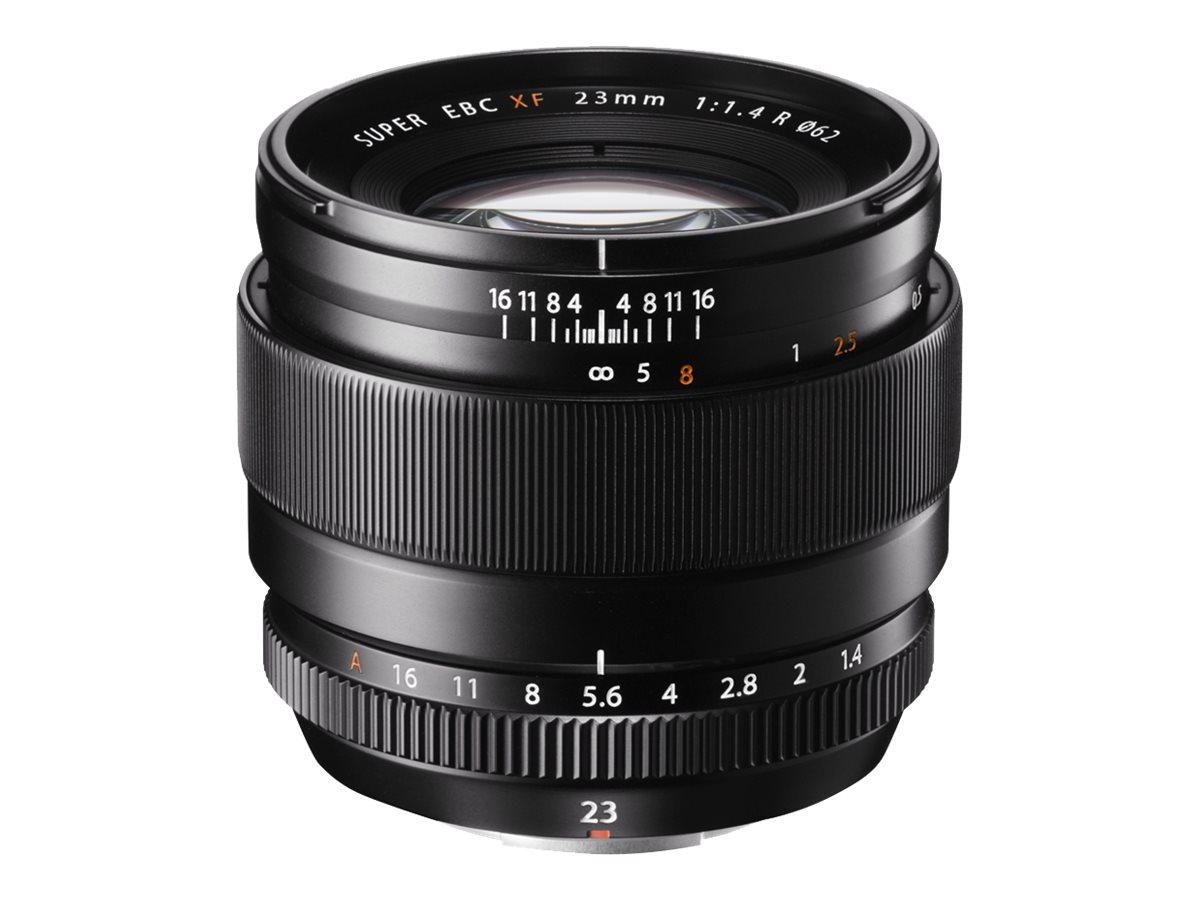 Fujinon XF - Objektiv - 23 mm - f/1.4 R - Fujifilm X Mount - für X Series X-A10, X-A2, X-A3, X-A5, X-E2S, X-E3, X-H1, X-Pro2, X-