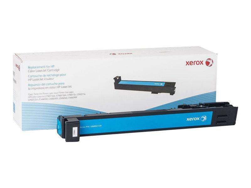 Xerox - Cyan - Tonerpatrone (Alternative zu: HP CB381A) - für HP Color LaserJet CM6030, CM6040, CP6015