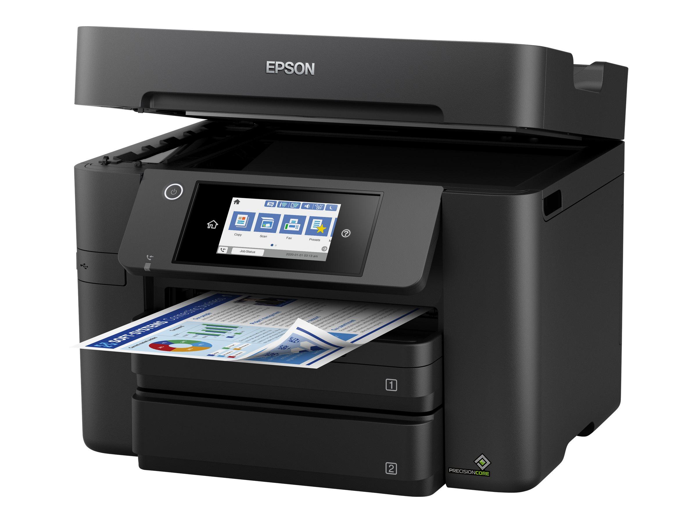 Epson WorkForce Pro WF-4830DTWF - Multifunktionsdrucker - Farbe - Tintenstrahl - A4/Legal (Medien) - bis zu 25 Seiten/Min. (Druc