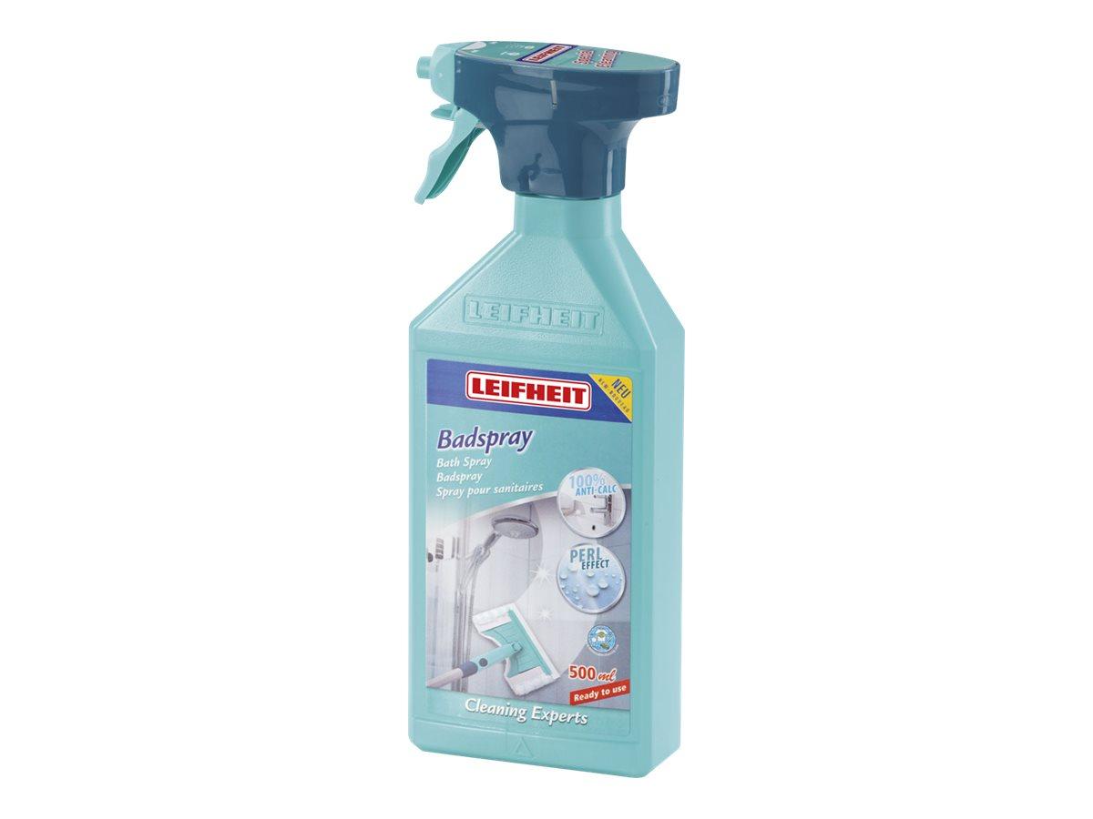 LEIFHEIT Badspray - Reiniger/Entkalker - Flüssigkeit - Sprühflasche - 500 ml