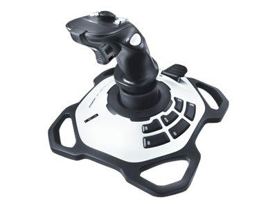 Logitech Extreme 3D Pro - Joystick - 12 Tasten - kabelgebunden - für PC