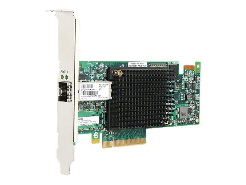 HPE StoreFabric SN1100E - Hostbus-Adapter - PCIe 3.0 x8 Low-Profile - 16Gb Fibre Channel x 1