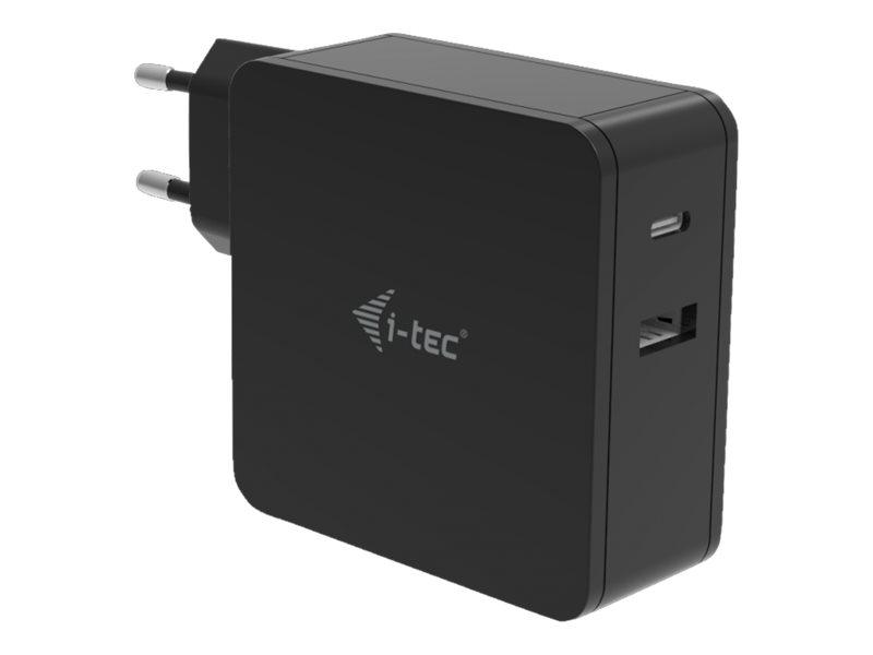 i-Tec USB-C CHARGER - Netzteil - Wechselstrom 100-240 V - 60 Watt