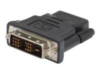 DIGITUS - Videoanschluss - HDMI (W) bis DVI-D (M) - abgeschirmt - Schwarz
