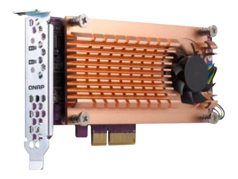 QNAP QM2-2P-384 - Speicher-Controller - PCIe 3.0 Low-Profile - PCIe 3.0 x8