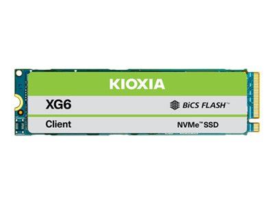 Toshiba XG6 Series KXG60ZNV512G - Solid-State-Disk - 512 GB - intern - M.2 2280 - PCI Express 3.1a x4 (NVMe)