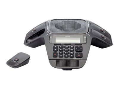 Auerswald COMfortel C-400 - VoIP-Konferenztelefon - DECT 6.0 - SIP, SRTP - 3 Leitungen - Schwarz