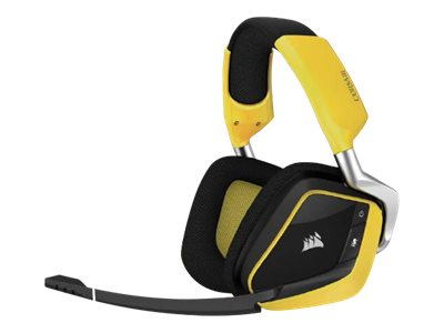 CORSAIR Gaming VOID PRO RGB - Special Edition Yellowjacket - Headset - Full-Size - 2,4 GHz - kabellos