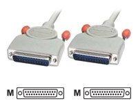 Lindy - Kabel seriell - DB-25 (M) bis DB-25 (M) - 3 m - geformt
