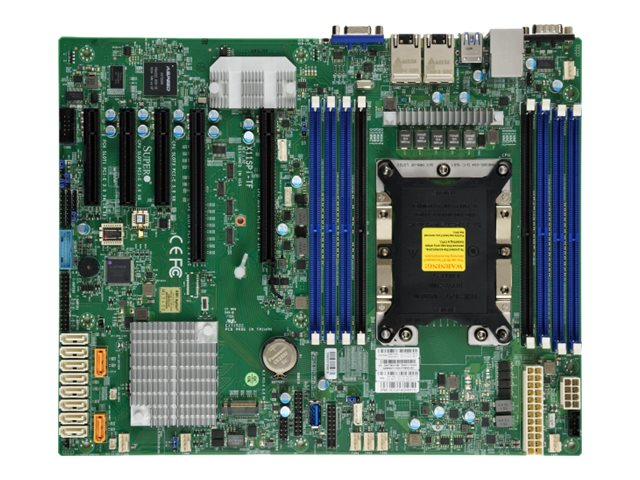 SUPERMICRO X11SPI-TF - Motherboard - ATX - Socket P - C622 - USB 3.0