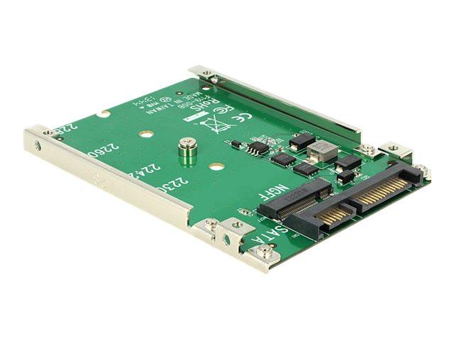 DeLOCK Converter 22 pin > M.2 NGFF - Speicher-Controller - SATA 6Gb/s - 600 MBps - SATA 6Gb/s