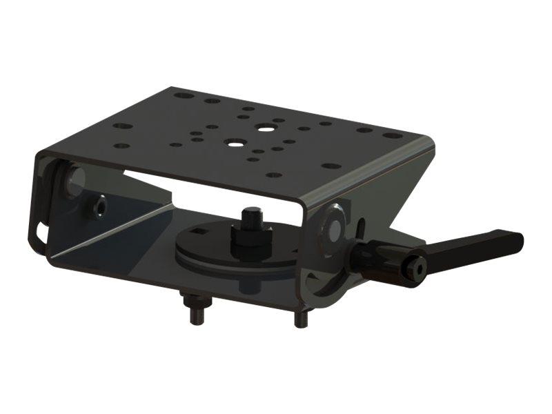 Gamber-Johnson - Montagekomponente (Clevis Motion Aufsatz) - Stahl - schwarze Pulverbeschichtung - Montageschnittstelle: 75 x 75