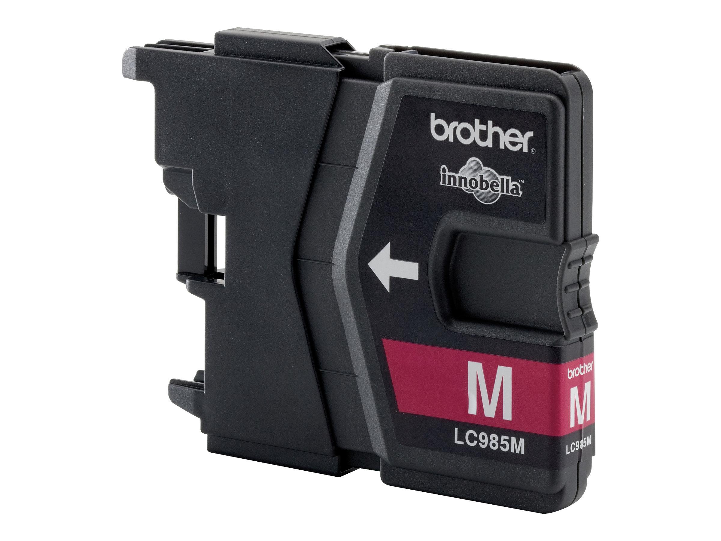 Brother LC985M - 10 ml - Magenta - Original - Tintenpatrone - für Brother DCP-J125, DCP-J140, DCP-J315, DCP-J515, MFC-J220, MFC-