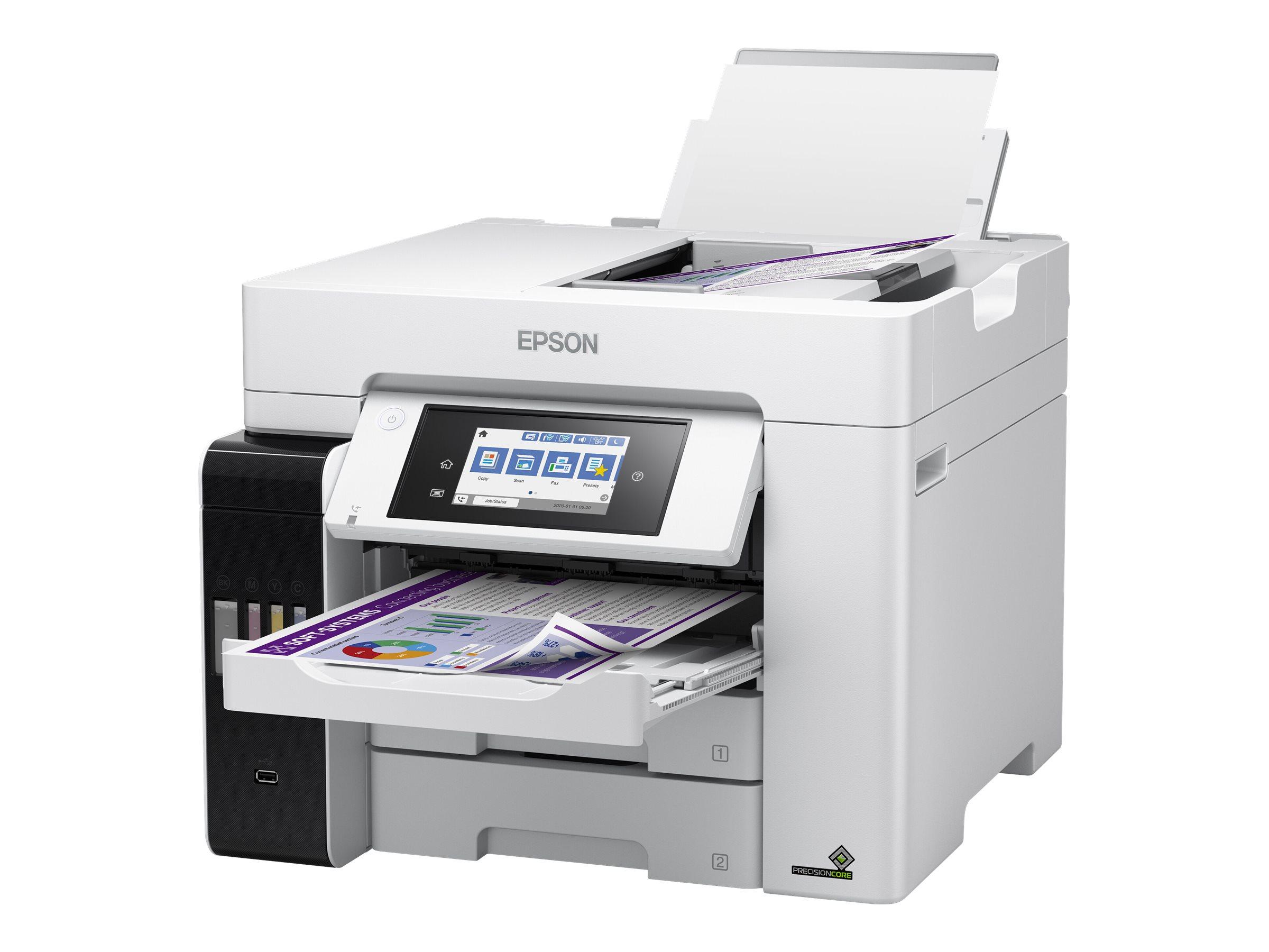 Epson EcoTank ET-5880 - Multifunktionsdrucker - Farbe - Tintenstrahl - A4 (210 x 297 mm) (Original) - A4 (Medien)