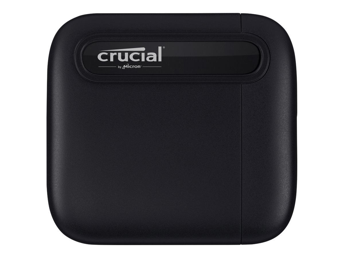 Crucial X6 - Solid-State-Disk - 4 TB - extern (tragbar) - USB 3.2 Gen 2 (USB-C Steckverbinder)