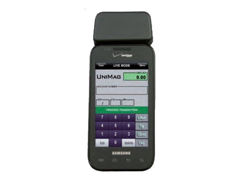 ID TECH UniMag Pro ID-80110004-001 - Magnetkartenleser (Spuren 1, 2 & 3) - Schwarz - für Apple iPhone 4; HTC Desire Z; Motorola
