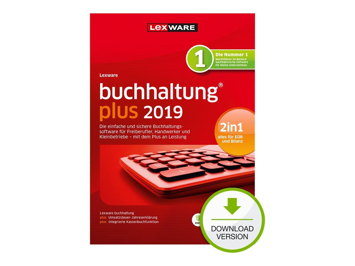 Lexware buchhaltung plus 2019 - Abonnement-Lizenz (1 Jahr) - 1 Benutzer - Download - ESD - Deutsch