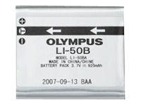 Olympus LI-50B - Batterie - Li-Ion - 925 mAh - für Olympus D-785, TG-860; Stylus Tough TG-810, 860, 870; Stylus Traveller SZ-17;