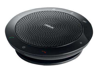 Jabra SPEAK 510+ UC - VoIP-Freisprechtelefon für Tisch - Bluetooth - kabellos - USB