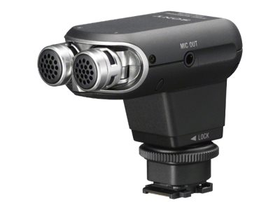 Sony ECM-XYST1M - Mikrofon - für Cyber-shot RX10; Handycam FDR-AX700; NXCAM HXR-NX80; XDCAM PXW-Z90; a6400; a7 III; a7R III