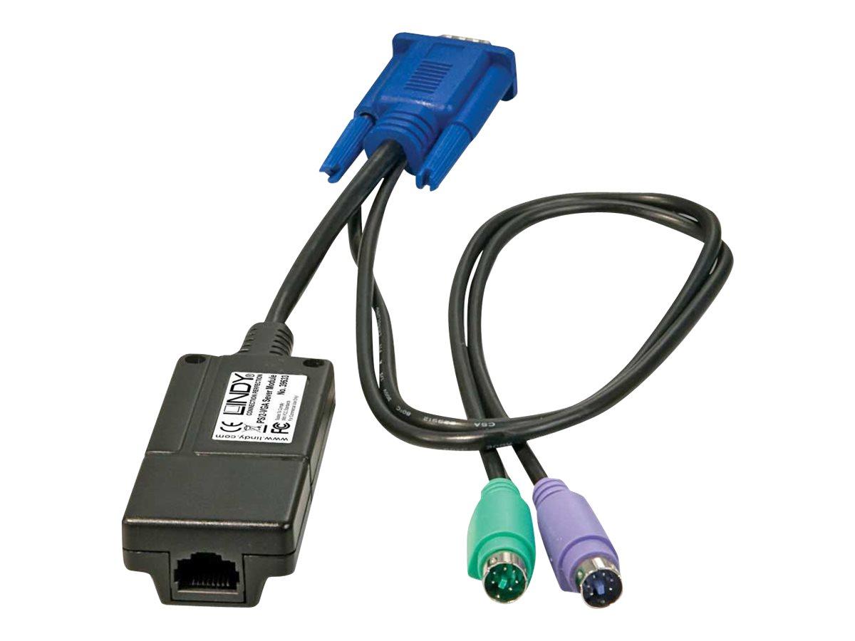 LINDY Computer Access Module - KVM-Extender - PS/2 - bis zu 100 m