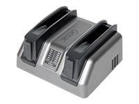 Getac Dual bay - Batterieladegerät - Ausgangsbuchsen: 2 - Grossbritannien und Nordirland - für Getac S410