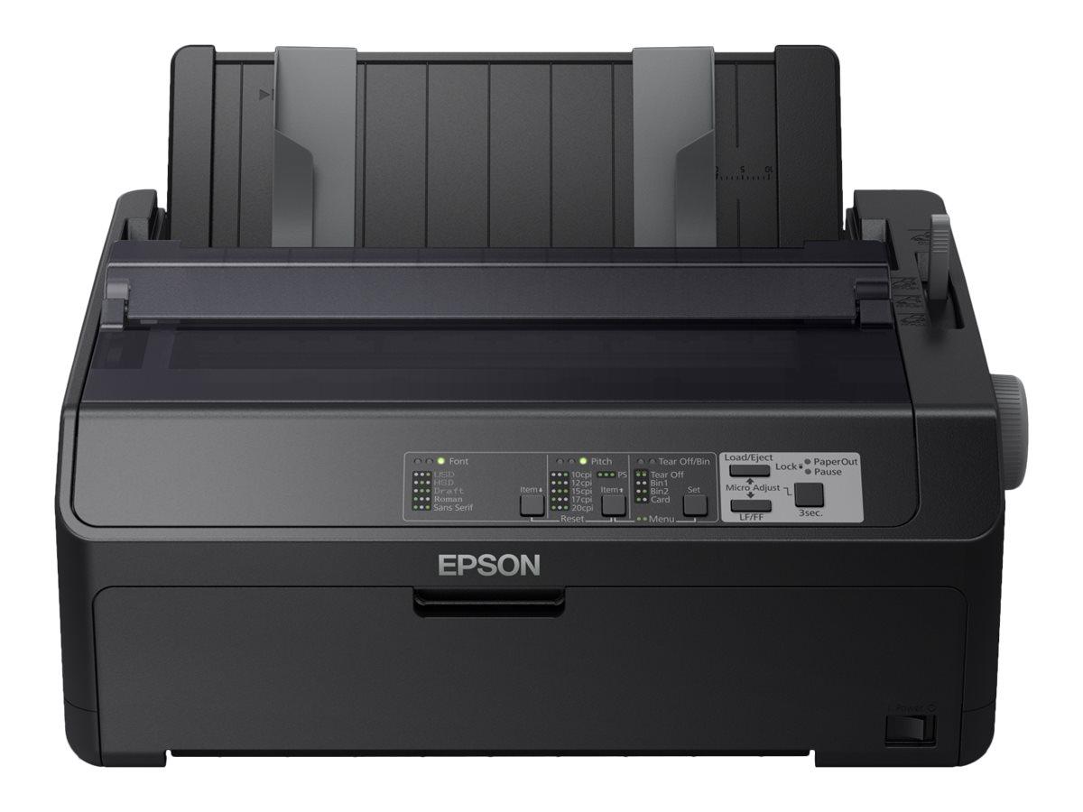 Epson FX 890IIN - Drucker - monochrom - Punktmatrix - Rolle (21,6 cm), JIS B4, 254 mm (Breite) - 240 x 144 dpi
