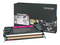 Lexmark - Hohe Ergiebigkeit - Magenta - Original - Tonerpatrone LCCP - für Lexmark C736dn, C736dtn, C736N, X736de, X738de, X738d