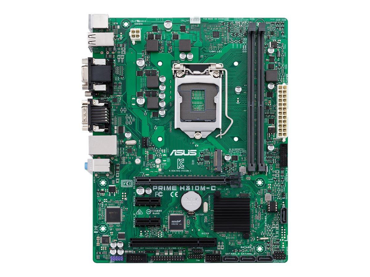 ASUS PRIME H310M-C/CSM - Motherboard - micro ATX - LGA1151 Socket - H310 - USB 3.1 Gen 1