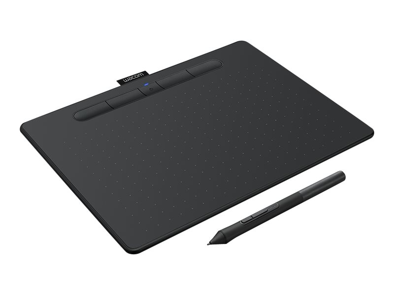Wacom Intuos Creative Pen Medium - Digitalisierer - 21.6 x 13.5 cm - elektromagnetisch - 4 Tasten - kabellos, kabelgebunden