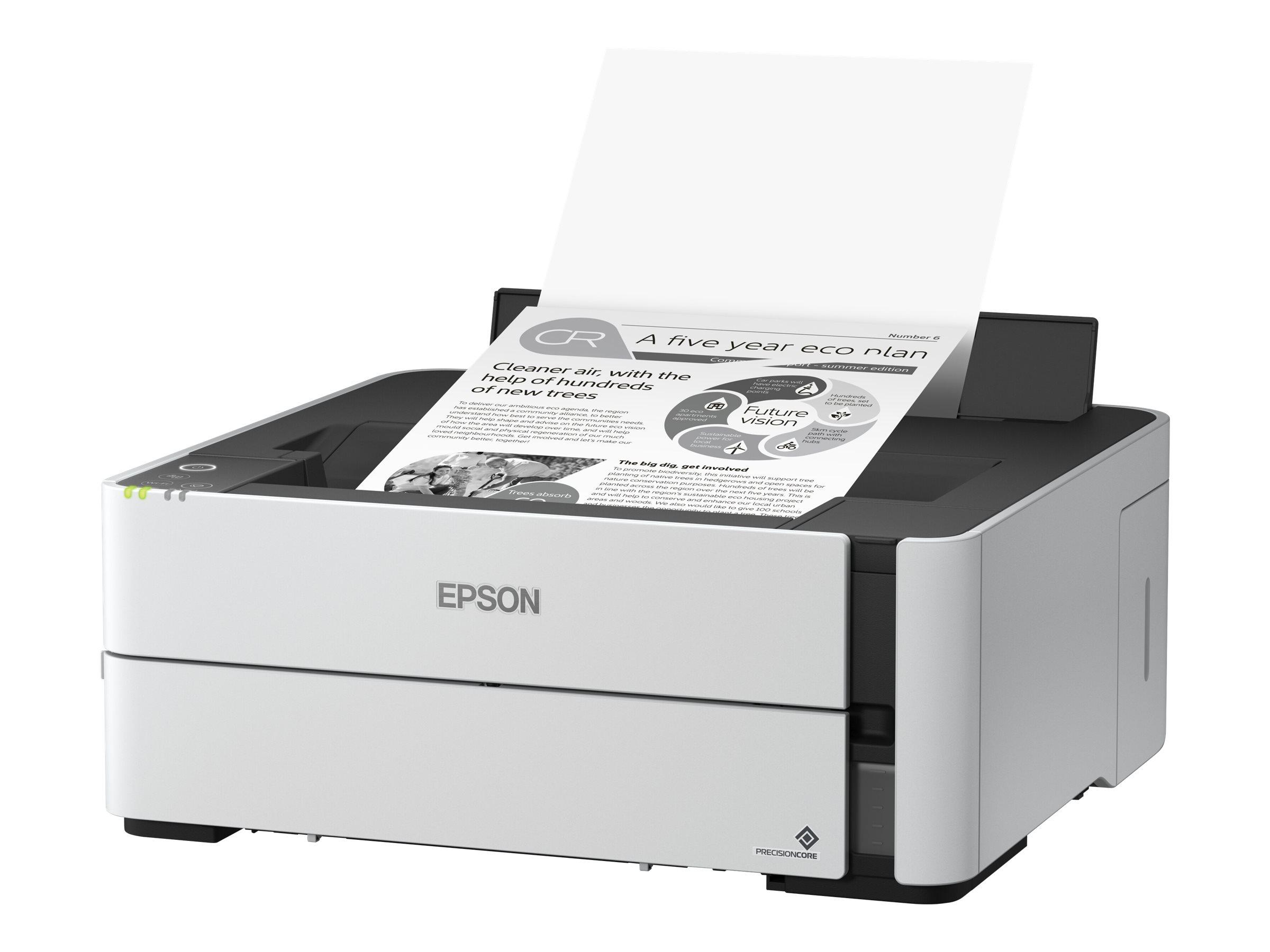 Epson EcoTank ET-M1180 - Drucker - s/w - Duplex - Tintenstrahl - refillable