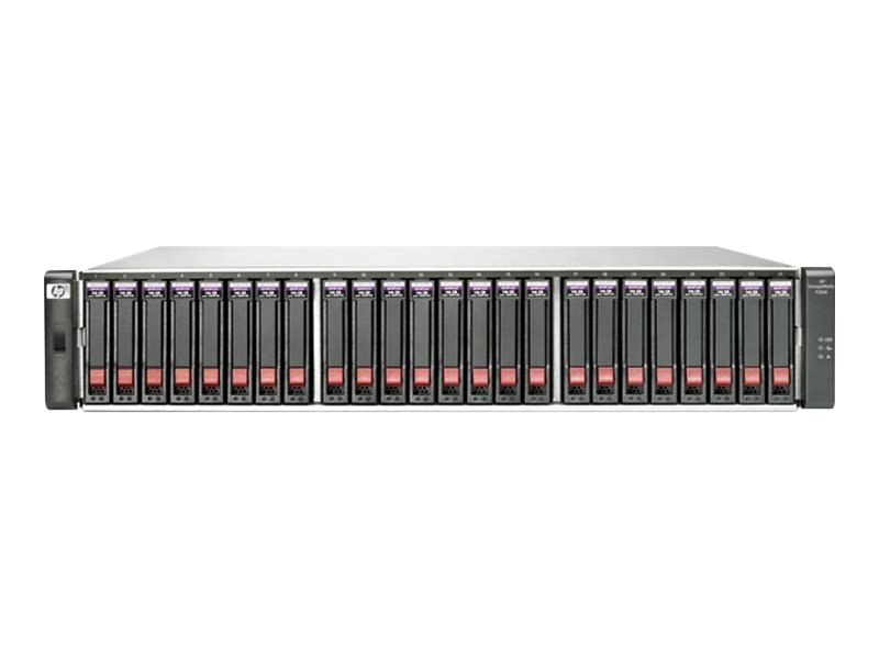 HPE Modular Smart Array P2000 G3 iSCSI Dual Controller SFF Array System - Festplatten-Array - 24 Schächte (SATA-300 / SAS-2) - H