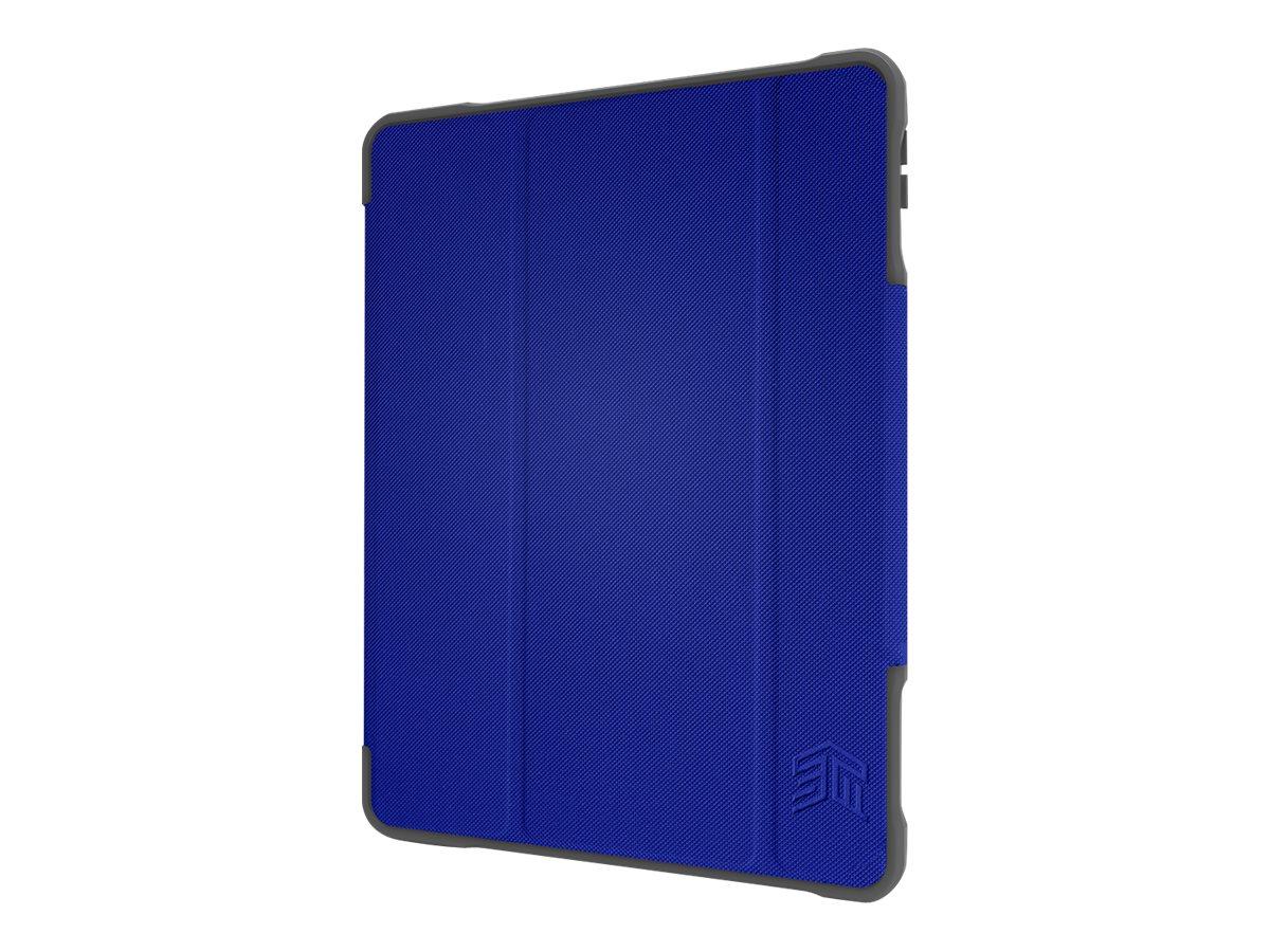 STM dux Plus Duo - Flip-Hülle für Tablet - widerstandsfähig - Polycarbonat, Thermoplastisches Polyurethan (TPU) - Blau - Univers