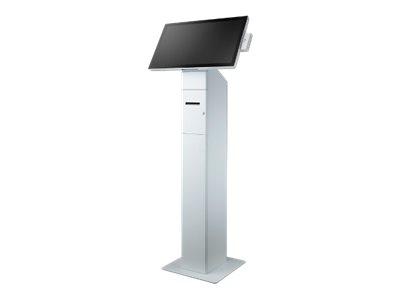 Advantech UTC-750-WSTAND0E - Bodenständer für All-In-One - weiss - mit WP-K851 thermal printer