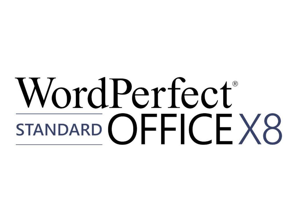 WordPerfect Office X8 Standard Edition - Medien - DVD - Win